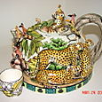 Cheetah Dome Teapot