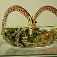 Giraffe Handle Bowl
