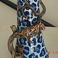 Candlestick Leopard Print