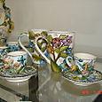 Floral Espresso Cup & Coffee Mug